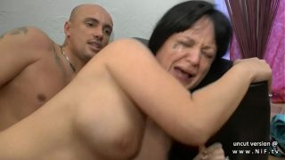 Amateur busty french milf hard anal n deepthroat with cum in mouth for casting